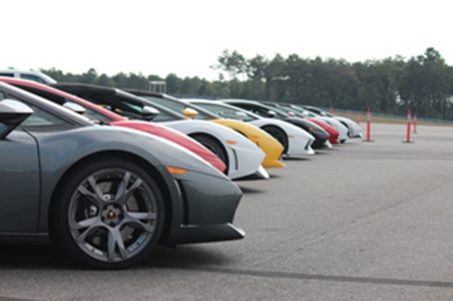 Ride and Drive, Lambo Track Day