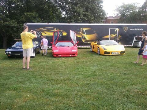 Lamborghinis at the 2011 Pittsburgh Grand Prix