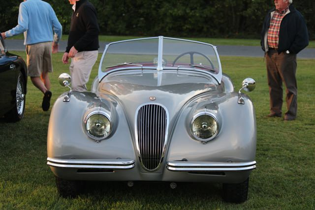Classic cars at the St. Michaels Concours d'Elegance